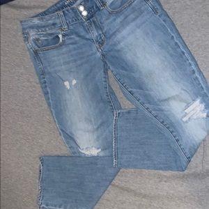 American Eagle Artist Crop Jeans